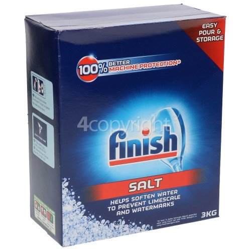 Finish Dishwasher Salt - 3Kg