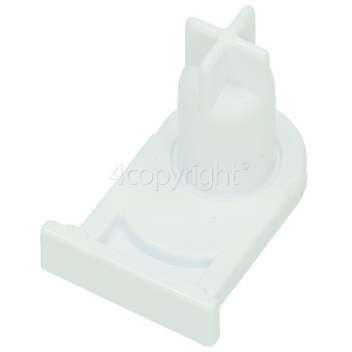Bosch Fridge / Freezer Door Hinge Support - White
