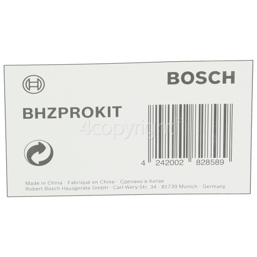 Bosch BCH625KTGB/01 BHZKIT1 Athlet Accessory Kit