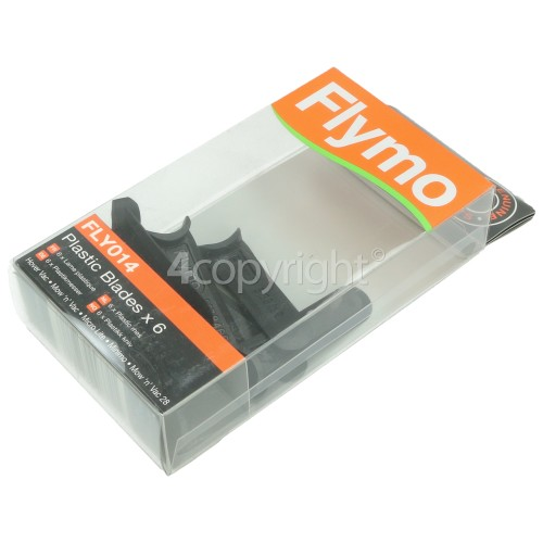 Flymo FLY014 Plastic Blades (Pack Of 6)