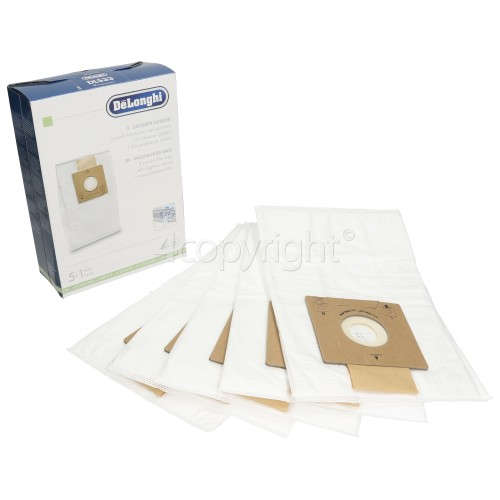 Delonghi DLS 33 Filter Dust Bags (Pack Of 5)