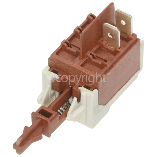Push Button On/Off Switch : 2Tag Short Shaft