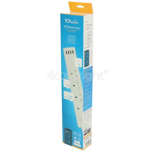 TCP Smart WiFi 4-Socket Extension Lead - UK Plug