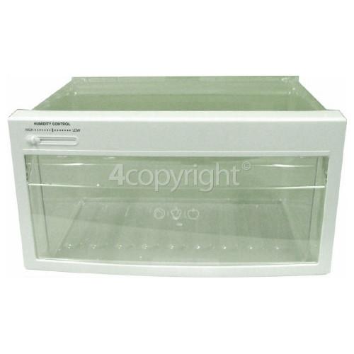 LG Fridge Upper Crisper Drawer Assembly : 422 X 220 X 357mm