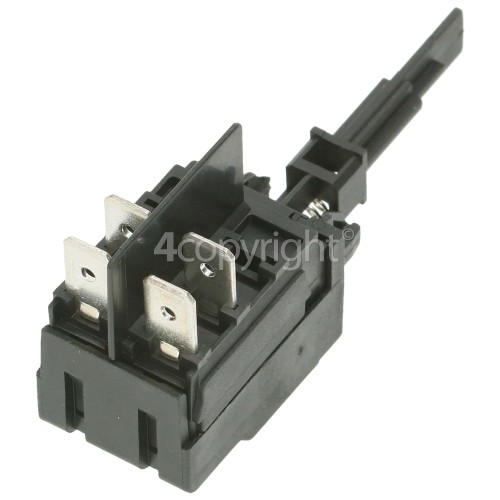 Whirlpool On/Off Push Button Switch : 4tag Long Shaft