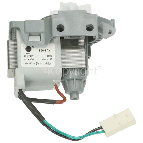 Samsung Drain Pump (with Round Top) : Fudi PSB01 30W Or Hanyu B20-6AY