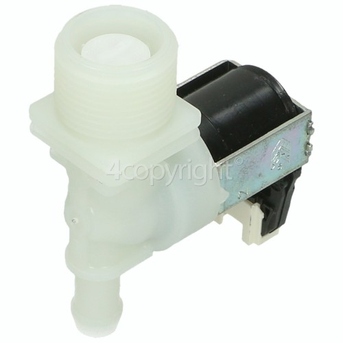 Whirlpool Cold Water Single Inlet Solenoid Valve : 180deg. Protected (push) Connector Tag Pin
