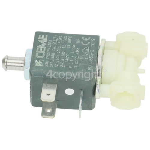 Fits Delonghi Coffee Machine Solenoid Valve Ceme 2 Ways 230v