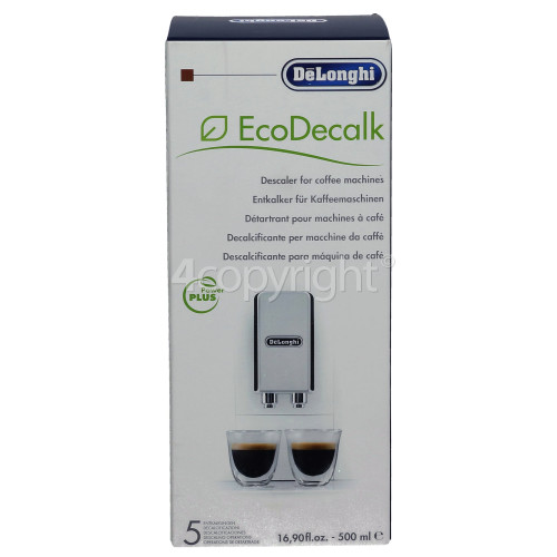 Delonghi EcoDecalk Universal Coffee Machine Descaler