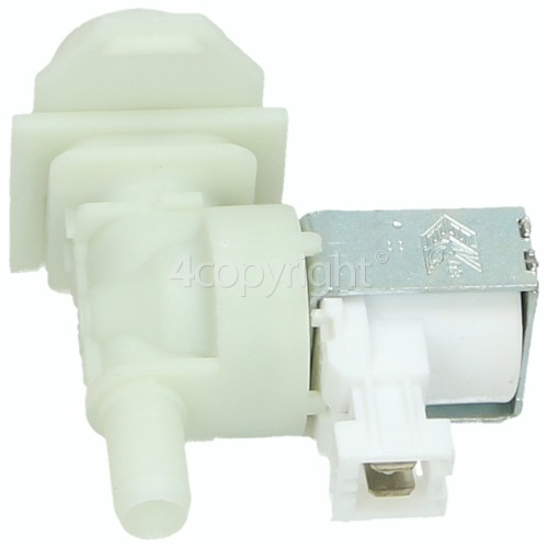 Bosch Hot Water Single Solenoid Inlet Valve : 180Deg. With Protected Tag Fitting & 10.5 Outlet Bore