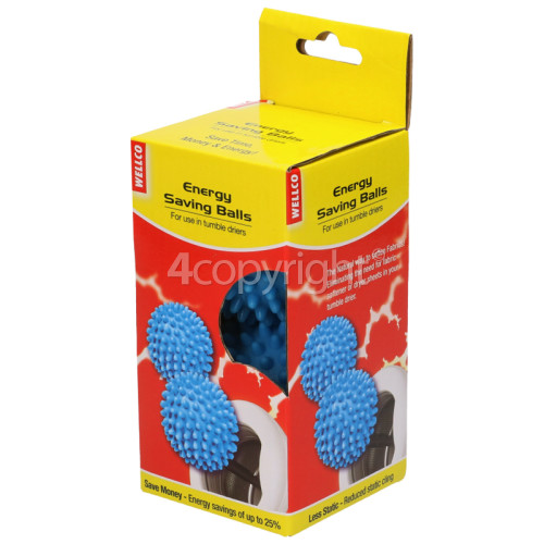 Wellco Energy Saving Tumble Dryer Balls