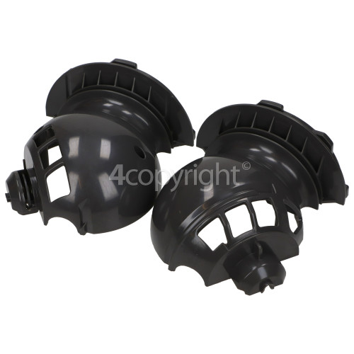 Flymo Motor Housing Pair Incl Spring