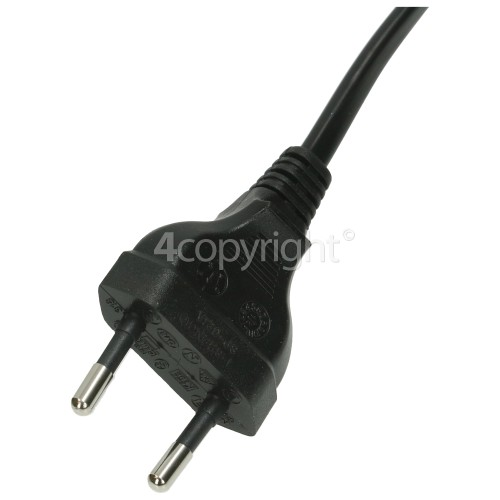 Hisense Tv Mains Cable 2 Pin Euro Lead