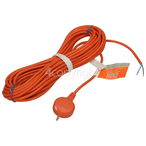 Flymo Lawnrake Compact 340 12m Power Cable And Moulded Plug