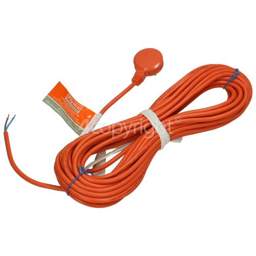 Flymo 12m Power Cable And Moulded Plug