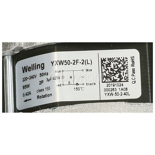Wash Pump Motor : Welling YXW50-2F-2(L) 95W