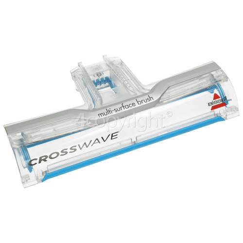 Bissell Crosswave Foot Window Assembly - Bossanova Blue