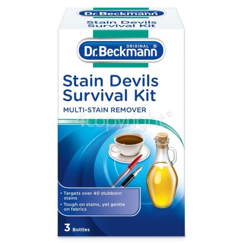 Dr.Beckmann Stain Devils Survival Kit ( Stain Remover) Every Home Should Have One