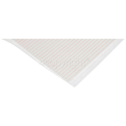 Universal Cooker Hood Grease Filter With Saturation Indicator ( 1140x470mm ) CUT TO SIZE