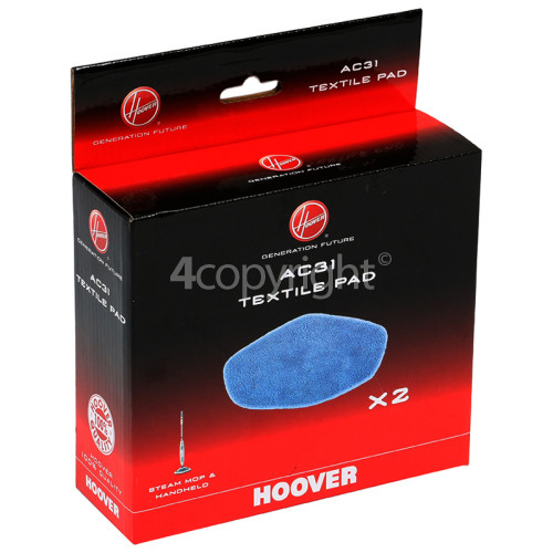 Hoover Steam Mop Pads AC31 (PACK 2)