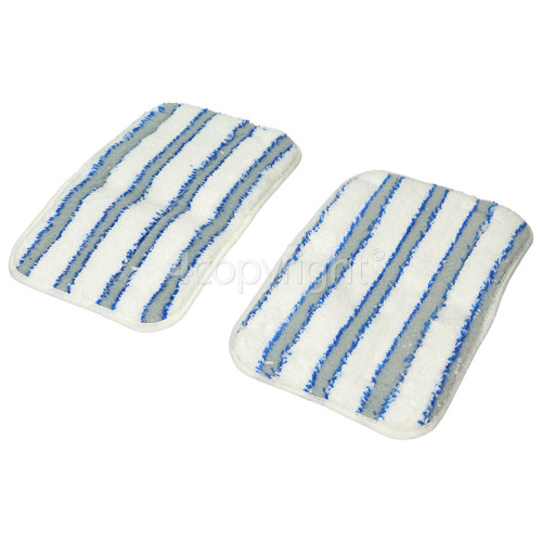 Hoover AC32 Textile Microfibre Steam Mop Pads (Pack Of 2)
