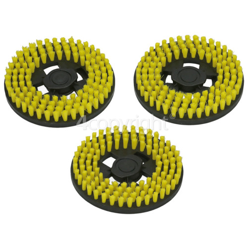 Hoover Z18 Hard Bristle Polishing Pads - Pack Of 3