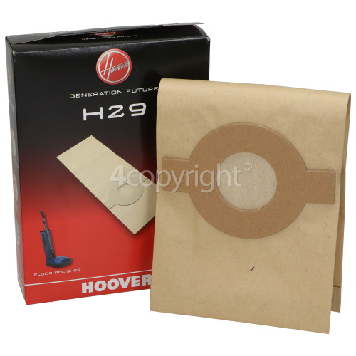 Hoover H29 Paper Bags (Pack Of 5)