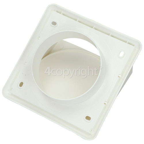 Wall Outlet (vent Hose) Cowled Grill Round Spigot