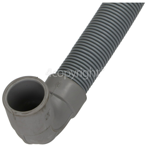 Drain Hose : 2.1MTR. 20MM Straight To Right Angle End 20MM Inside Dia.