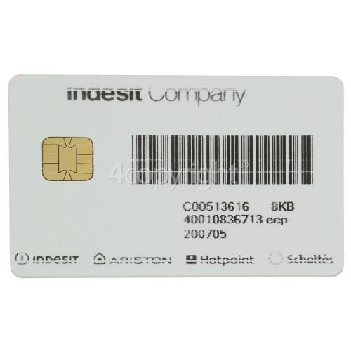 Indesit DFW5544CIXUK Smart Card