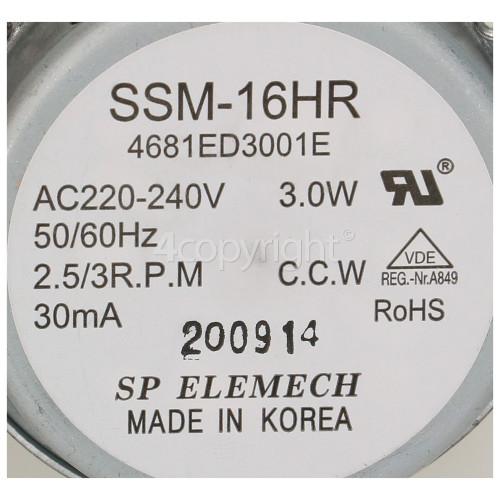 LG Motor Assembly Ac Stepping : SP ELEMECH SSM-16H 4681ED30013
