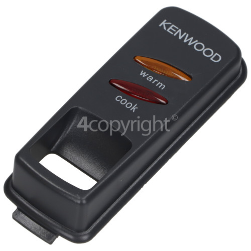 Kenwood Control Panel & Neon Cover Assembly