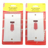 Wellco 45A Double Pole Switch With Neon (Box Of 2)