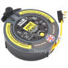 10m 4 Socket Extension Cable Reel - UK Plug