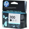 Hewlett Packard Genuine No.300 Black Ink Cartridge (CC640EE)