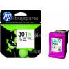 Hewlett Packard Genuine No.301XL Tri-Colour High Capacity Ink Cartridge (CH564EE)