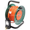 Draper 25m Garden Cable Reel With RCD Adaptor
