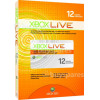 Microsoft Xbox Live 12 Month Gold Subscription Card