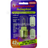 Lyvia Lyvia 42w Es To G9 Lampholder Adaptor Ideal For Chandeliers& Glass Fittings