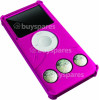 iFrogz iPod Nano 4G AudioWrapz Nano Speaker Case - Hot Pink