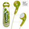 JVC HAF140 'GUMY' In-Ear Headphones - Green