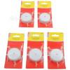 Wellco 5 A 4 Miniatur Verteileranschlussdosen (5er Pack)