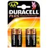 Original Duracell AA Alkali-Batterien (4er Pack) Einzelpackung