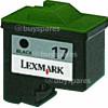 Lexmark Genuine No. 17 Black Print Cartridge