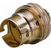 "Wellco Brass BC 1/2"" Screw Entry Lampholder (Box Of 10)"