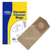 BuySpares Approved part G Dust Bag (Pack Of 5) - BAG115