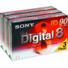 Digital-8 Camcorder Tape Pack (Pack Of 3) Sony