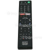 Sony RMF-TX200E TV Remote Control