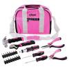 Rolson 25 Piece Pink Tool Bag Kit
