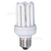 Wellco 25W ES Mini 5U Low Energy Lamp (Warm White) - Pack Of 5
